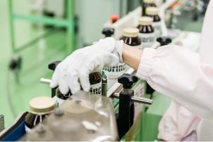 日本最大級のクロレラ培養プール